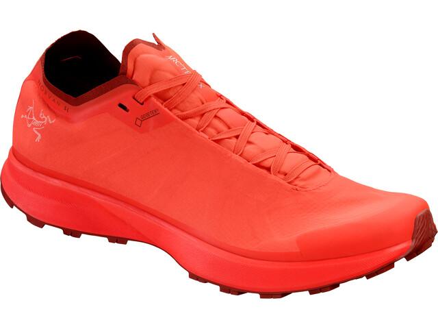 Arc'teryx Norvan SL GTX Løbesko Damer rød (2019) | Running shoes